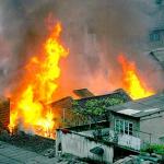 梦见自己家里着火了什么回事